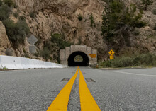 Los Angeles National Forest Tunnel, CA