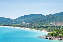 Mediterranean Sea On Sardinia....