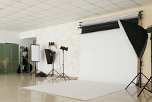 Interior Of Photo Studio With ...