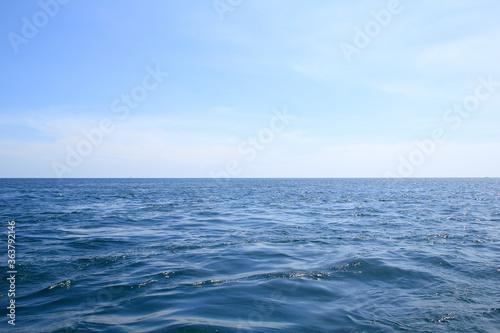 Scenic View Of Sea Against Sky © ศรัญญู วงค์ไชย/EyeEm