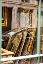 Restoration Workshop Through The Window