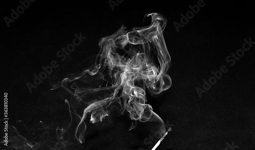 Fotografija Smoke From A Matchstick