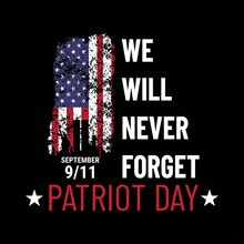 Patriot Day Illustration. We W...