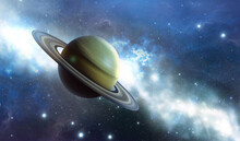 Saturn Planet In The Universe....