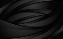Abstract Dynamic Black With Tr...