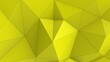 canvas print picture - Yellow abstract modern crystal background. Polygon, Line, Triangle pattern shape for wallpaper. Illustration low poly, polygonal design. futuristic, web, network concept