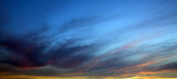 Fototapeta Kuchnia - Beautiful sunset . Nature background with colorful sky.