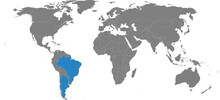 Argentina, Brazil Countries Is...