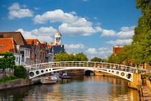 Stadtansicht Von Dokkum (NL)