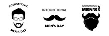 Set International Men's Day. G...