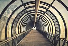 View Of Pedestrian Tunnel