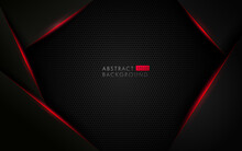 Abstract Template Black Backgr...