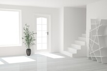Modern Interior Design. 3D Ill...