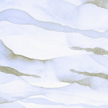 White Abstract Decoration. Gre...