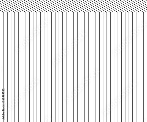 Abstract gray line background. Graphic modern pattern, vector li Canvas Print