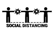 Social Distancing Concept. Ann...