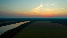 Sunset On The Potomac River Ma...