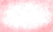 white light grunge background with pink paint on the sides, pink border of paints, hollow in the center. Cute for cards, banners, festive, romantic.