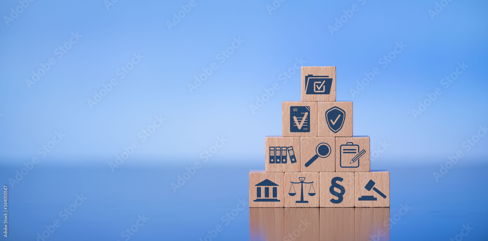 Fototapeta Concept of compliance