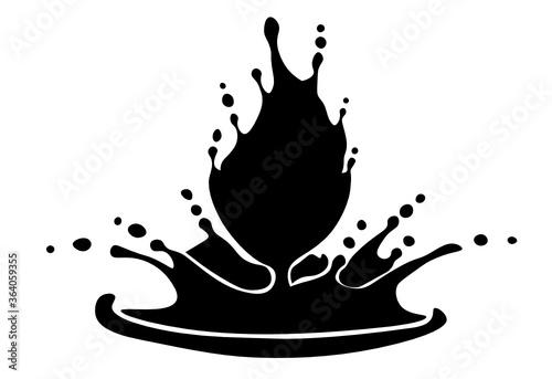 Fotografie, Obraz millk cup splash