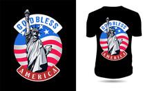 God Bless Americ Tshirt