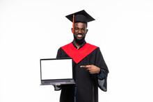 African Man Student In Graduat...