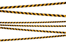 Black And Yellow Lines Of Barr...