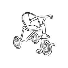 BMX. Children's Bicycle. Eleme...
