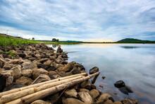 Nature Ea Kao Lake, Daklak Province, Vietnam.