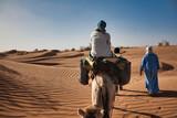 Wycieczka wielbłądami na pustynię