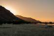 Sunset near Aba Huab in Damaraland