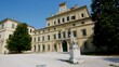Parma, Italy, the Ducal palace and foresenic police building