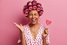Ordinary Ethnic Woman In Hair ...