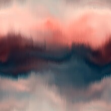 Vivid Degrade Blur Ombre Radia...