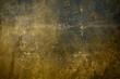 canvas print picture - Golden grungy backdrop