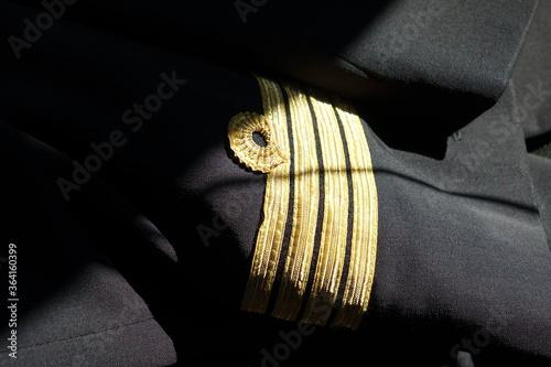 uniforme commandant de bord Fotobehang