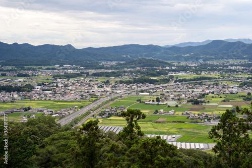 Photographie 北関東自動車道が走る風景 栃木県 佐野市 田沼町 2020