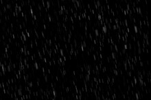 Dark Black Rain Overlay Texture Fog Effect Abstract Splashes Of Raindrop On Black