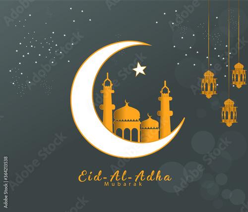 Fototapeta eid al adha illustration obraz