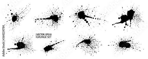 Canvastavla Grunge splatter