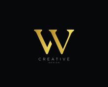 Letter VW WV Logo Design , Cre...