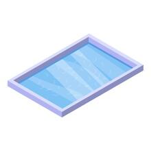 Sauna Pool Icon. Isometric Of ...