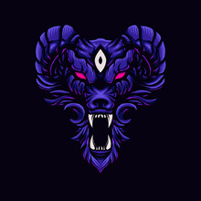 Vector Illustration Of Angry W...