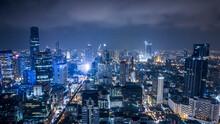 Drone Photograph Of Bangkok, C...