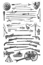 Antique Guns Collection / Diff...