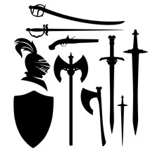 Antique Sword, Blades And Weap...