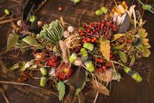 Autumn Still Life ,dry Flowers...