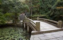 The Stone Arch Bridge Over The...