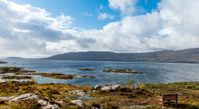 Plockton Coastline Near The Isle Of Skye, Scotland.
