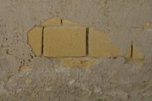 Muro Pietra Di Tufo, Rovinato ...
